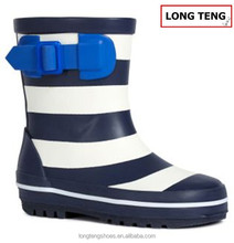 2016 LONGTENG high top quality and cheap rubber boots for kids
