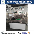 Glass bottled soft drink bottling machine