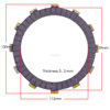 CB400/CBR23 motorcycle clutch plate , Motorcycle spare parts ,Motorcycle accessories for Honda