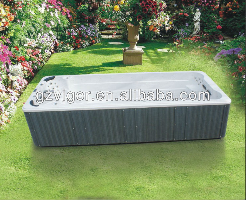 promotion durable Acrylic Outdoor sex massage above ground swimming pool JY8602
