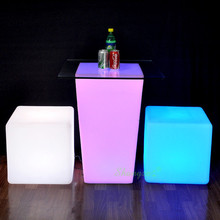 SZ-G8035-k043 Sale cheap plastic led tables and chairs