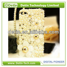 Daisy Flower pearl rhinestone hard case for any brand phone models