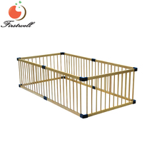 Combine freely wooden playpen for baby safety play yard