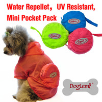 2015 New High Quality Pet Supplies Casual Dog Raincoat