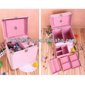 Custom beauty storage carrying box compact aluminum makeup vanity case