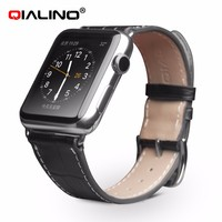 Custom Printed Unisex Genuine Leather wrist Watch Belt Watch band for Iwatch or for Apple Watch Iwatch
