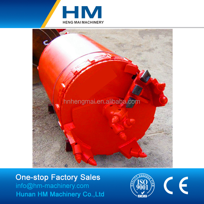 best sale piling spare parts double cut soil drilling bucket of Bottom Price