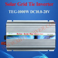 Solar panel 1000W, solar on grid tie inverter 220V 1KW, 12V/24V dc voltage converter