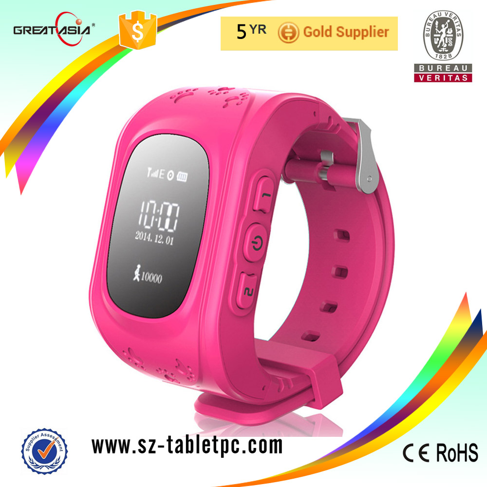 GPS Kids Smart Tracking Watch Phone Q50 with Sim Card kdis watch