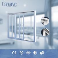 high standard soundproof double glass sliding door hardware canada