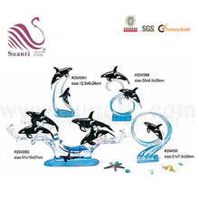 Whale decorations sculpture types of dolphins