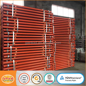 Heavy and light duty prop scaffolding adjustable steel shoring prop in construction