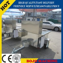 HD-12B electric tricycle hotdog cart cheap hot dog cart designing hot dog rolling grill cart