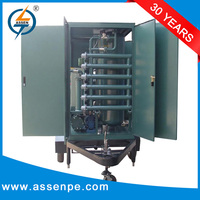 Economic type high vacuum oil filtration systems/transformer oil recovery plant