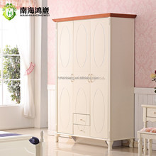 children bedroom furniture 3-door kids wardrobe