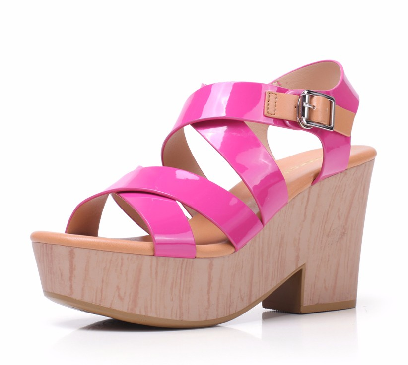 fancy wedge heel shoes koria style 2016 2014 fashion