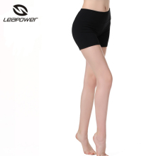 Wholesale black womens spandex athletic booty yoga shorts