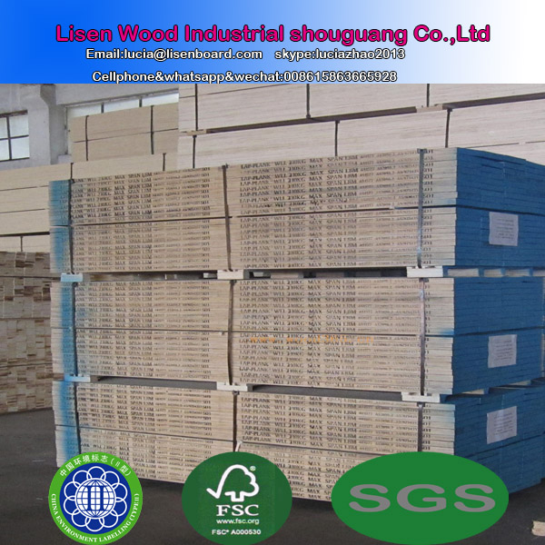 Best Price Osha Pine Lvl Scaffold Plank , Timber Construction Wood /Pine LVL Plywood