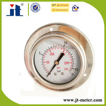 "Flange Type 2.5"" Hydraulic Oil Pressure Gauge"