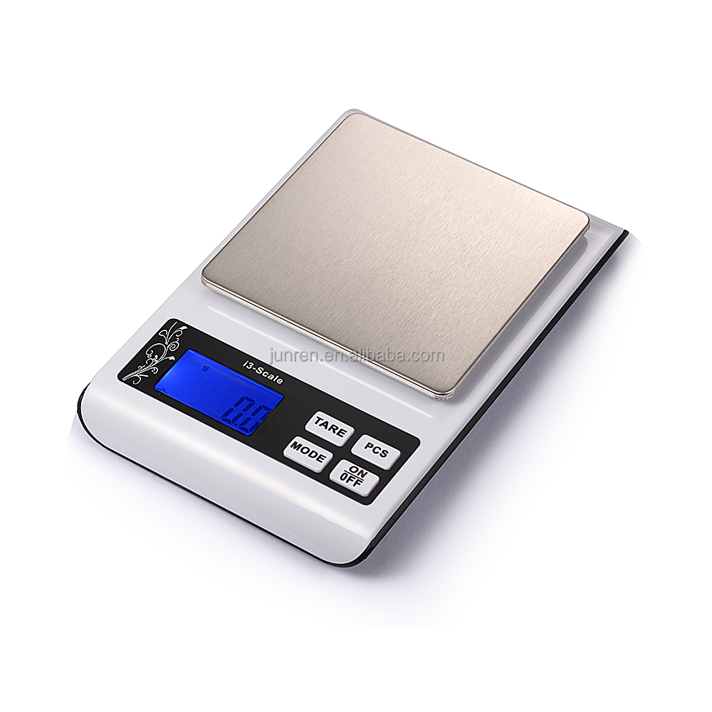 Trade Assurance Stainless Steel Slim Digital Kitchen Nutrition Scale 1kg/0.1g precious