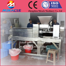 Coconut meat handling machine from coconut white meat grating machine