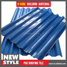 dimpled plastic drain sheet / tinted plastic roofing sheet / thickness 2mm polycarbonate sheet