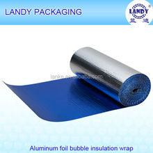 Heat reflective Aluminum foil bubble heat insulation material blue coating woven