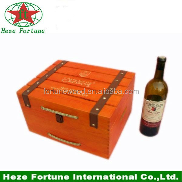 custom wooden wine box with lower price