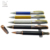 New carbon fibre executive gift set half metal ball pen