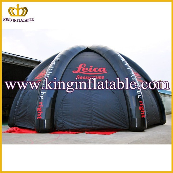 Custom Black Inflatable Dome Price, Inflatable Military Tent/Inflatable Igloo Tent For Rental