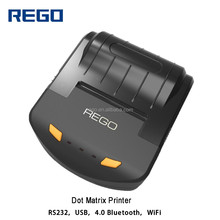 REGO android dot-matrix printer bluetooth breathalyzer printer