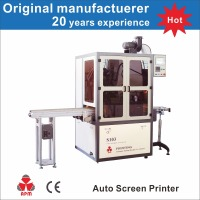 S103 plastic bottle screen printer, bottle screen printing machine, cosmetic bottle screen printer