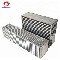 Hot selling OEM custom made aluminum bar plate auto intercooler core