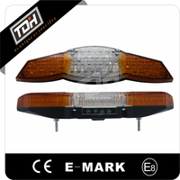 Best Selling Moto Parts Universal Motorcycle Rear Light E-mark with Turn Signal Lights Function