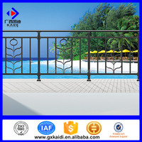 Ornamental balcony railing designs/lowes wrought iron railings /terrace balustrade