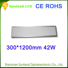 Favorite compare ,new style, 42w SMD3014 CE ROHS 300*1200mm led floor panel