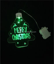 acrylic led street light/outdorr led light/flash led light best for Christmas decoration with al kids of shapes