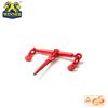 Credit Checked Red Painted Chain Type Loading Binders