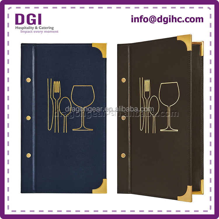 leather wine list covers
