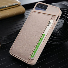 2015 Wholesale China New Case Factory price luxury PU for iPhone5s, for iPhone 5 Cards Case, for IPhone 5s colorful case