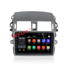 Durable din Car Auto Part special for corolla 2009 year with android 7.1 4 core 2G RAM