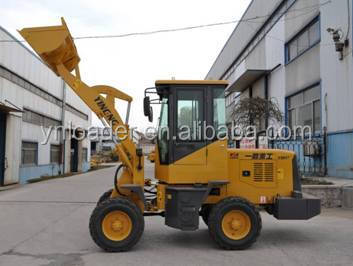 China construction heavy duty machine 1 ton front end wheel loader price
