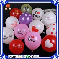 Shenzhen wholesale 12inch cheap inflatable Latex Advertising balloon