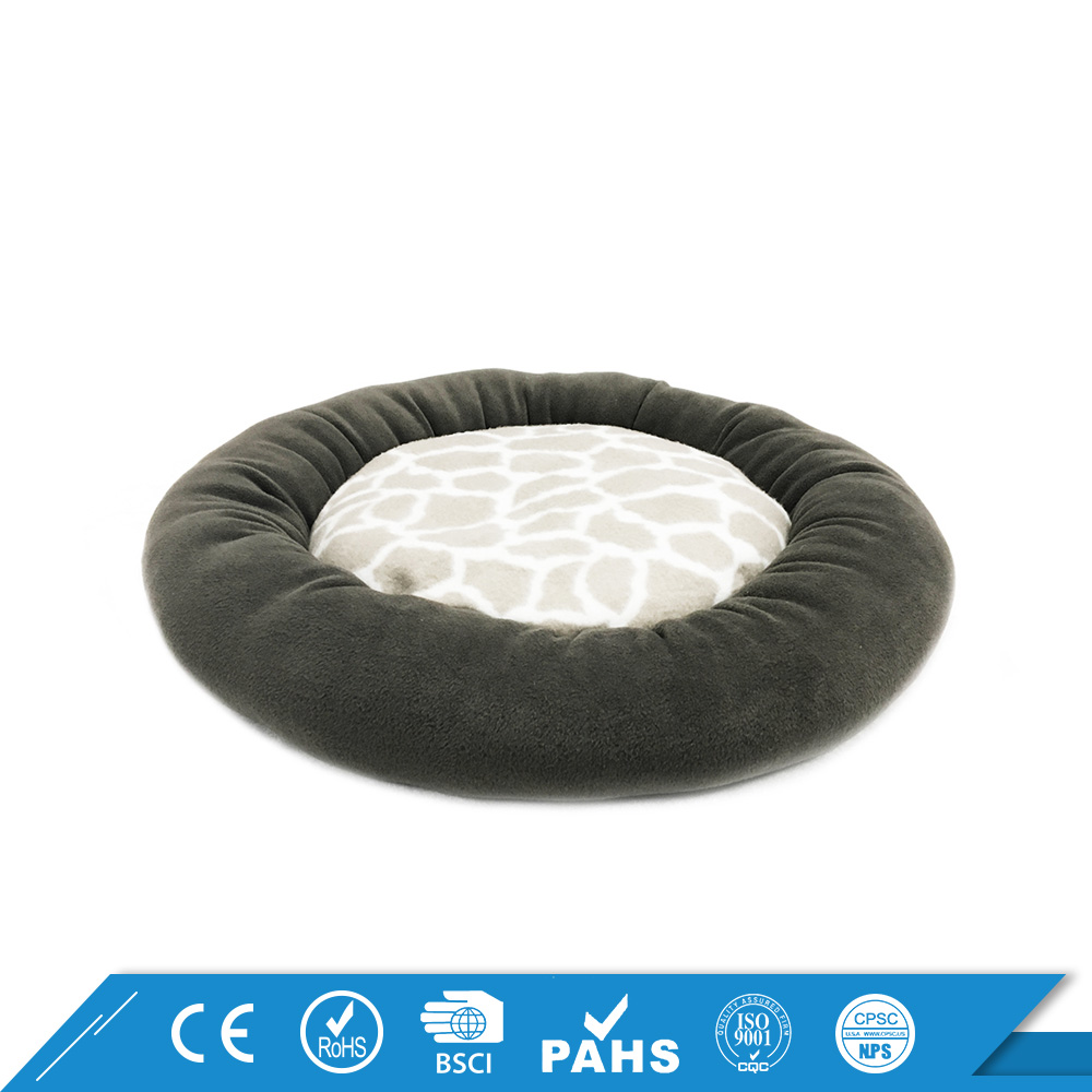 Made in China Luxury Soft Fleece Filling Memory Foam Cheap Large Dog Beds