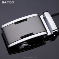 Belts For Men Fashion Male Style Automatic Buckle Leather Cowhide Belt