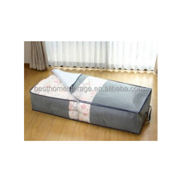 Dust Proof Underbed Blanket Or Clothing Packaging Bag With Transparent Window