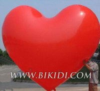 advertising huge love inflatable balloon