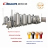 Stainless steel 500l 800l 1000l 2000l 3000l beer conical fermenters/fermentors with glycol jacket for beer fermenting
