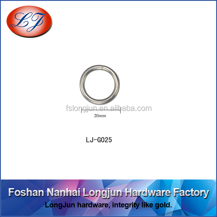 H011 iron small O ring for key chain hardware