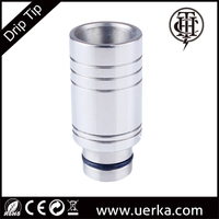 Original Design SS-002 2015 Wholesale ecig atomizer wide bore stainless steel drip tip